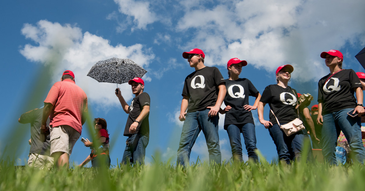 Amazon removes QAnon merchandise from its marketplace