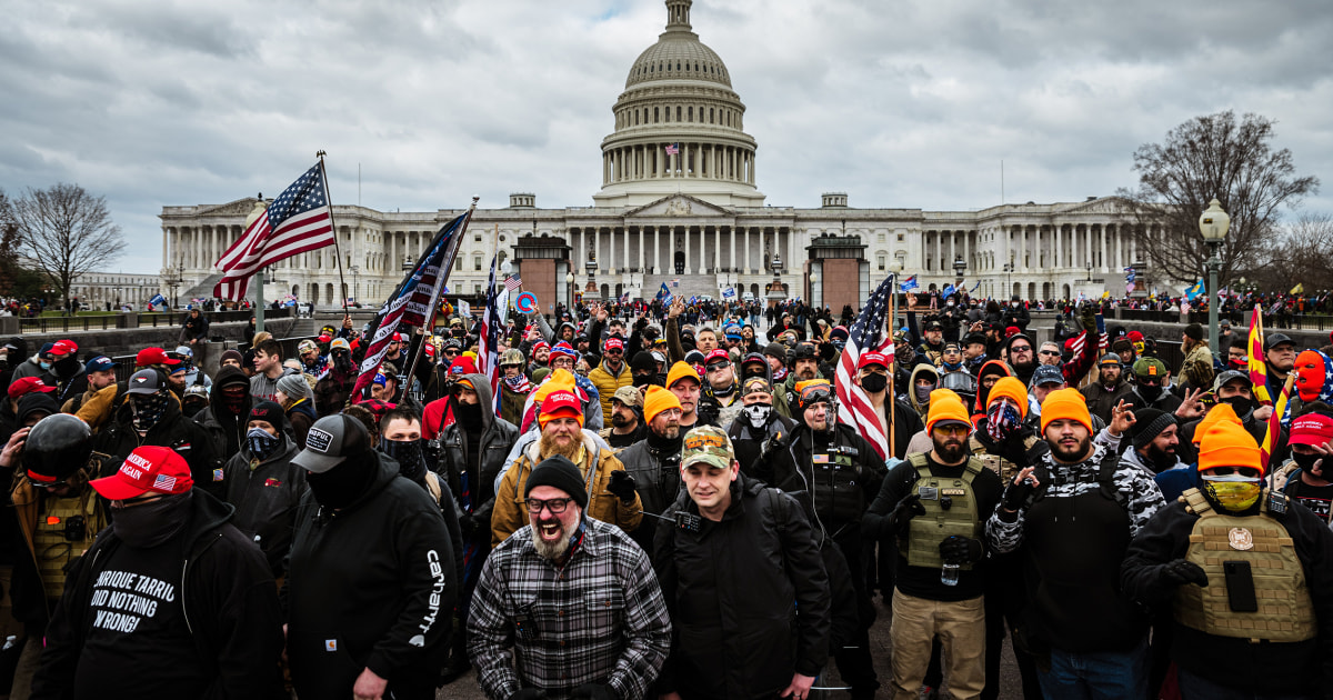 Extremists made little secret of ambitions to 'occupy' Capitol in weeks before attack