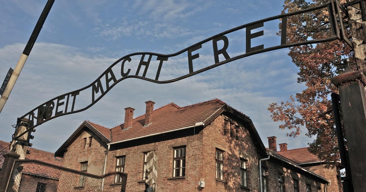 Jewish cemetery near Auschwitz vandalized with Nazi symbols