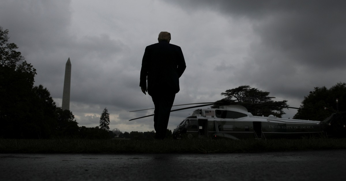 Trump enters final week as president with few allies, no Twitter and an impeachment effort