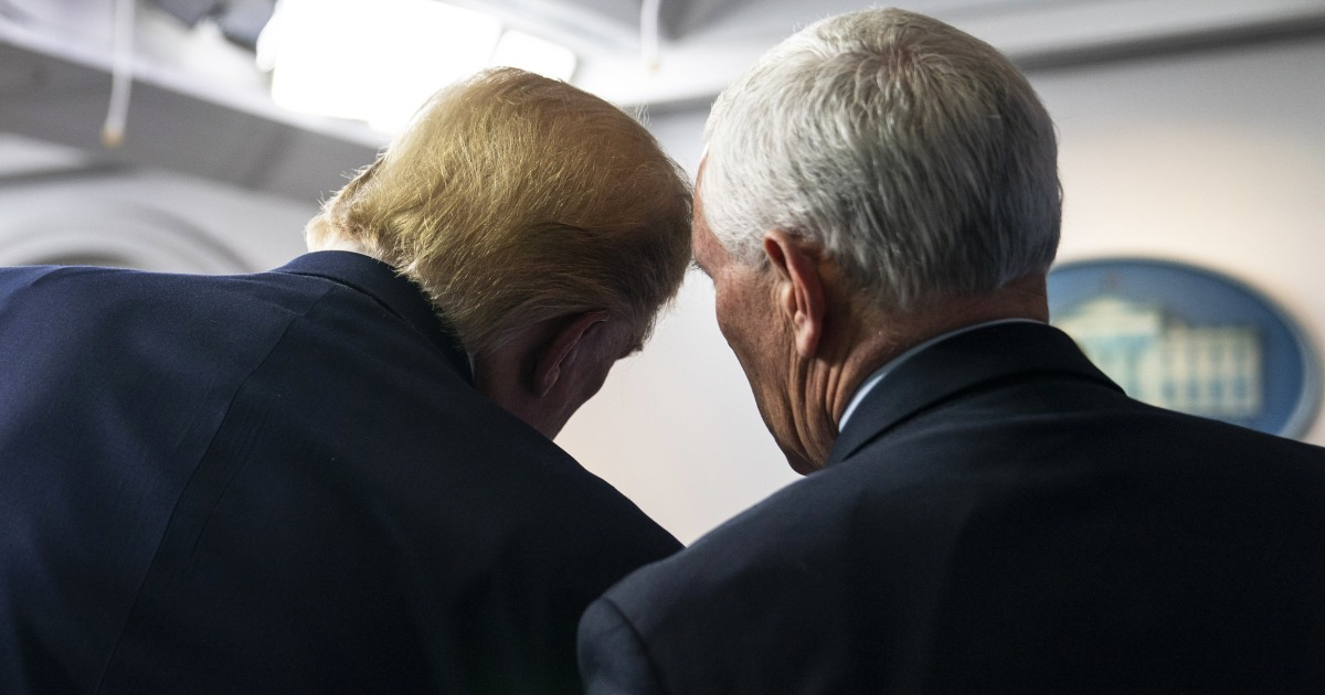 After break with Trump, Pence charts a new path forward