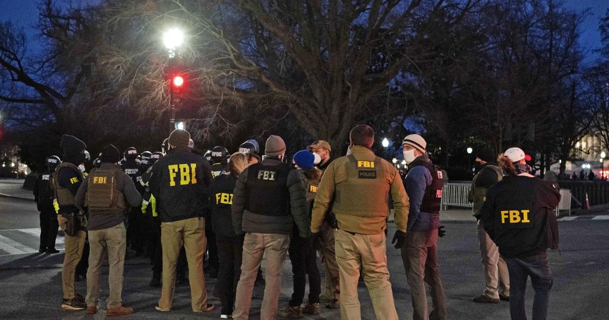 FBI Washington field office got an F for fighting domestic terrorism from bureau officials – NBC News