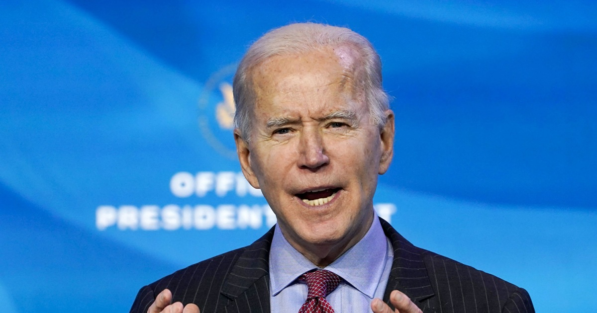 Biden lays out $1.9 trillion Covid-19 relief package with $1,400 stimulus checks