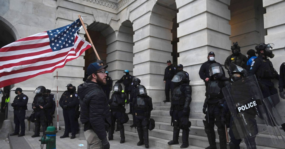 New Mexico official detained after allegedly leading Capitol rioters in prayer thumbnail
