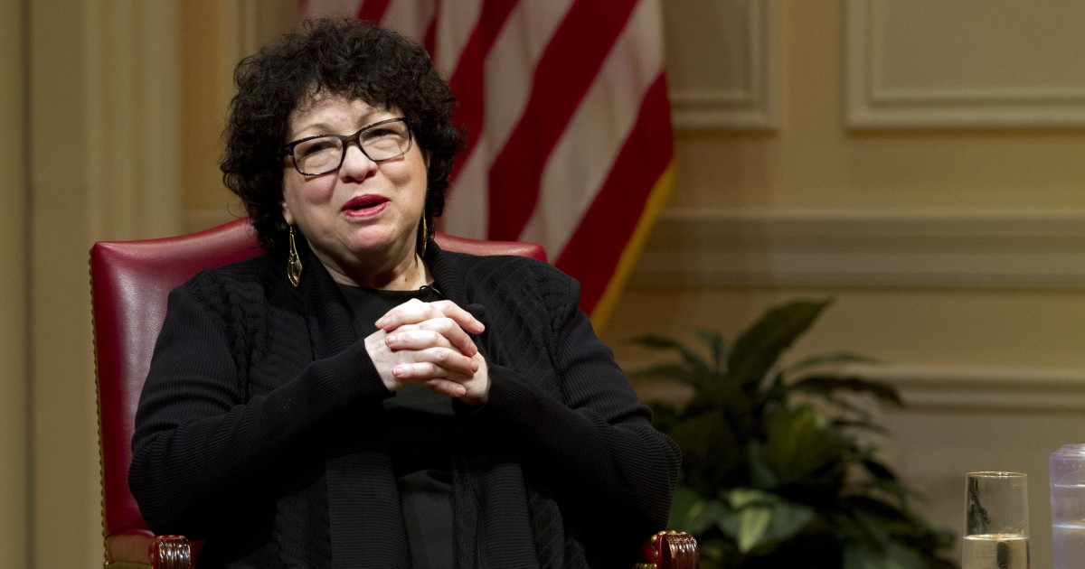 Kamala Harris to be sworn in as vice president by Supreme Court Justice Sotomayor