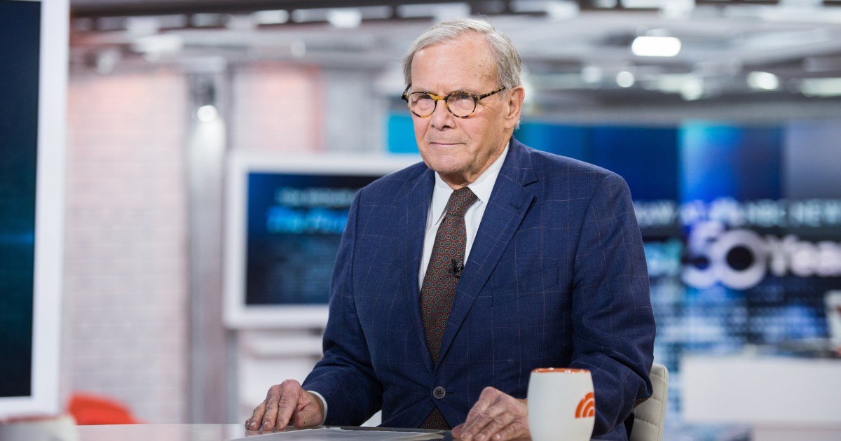 Tom Brokaw announces retirement after 55 years at NBC News