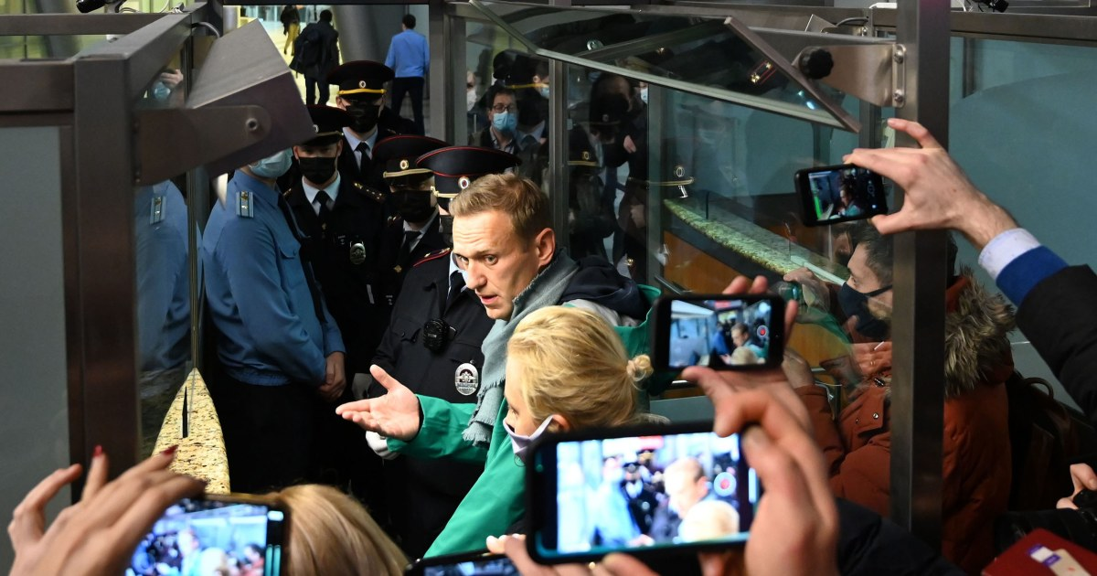 Russian opposition leader Alexei Navalny detained for 30 days – NBC News