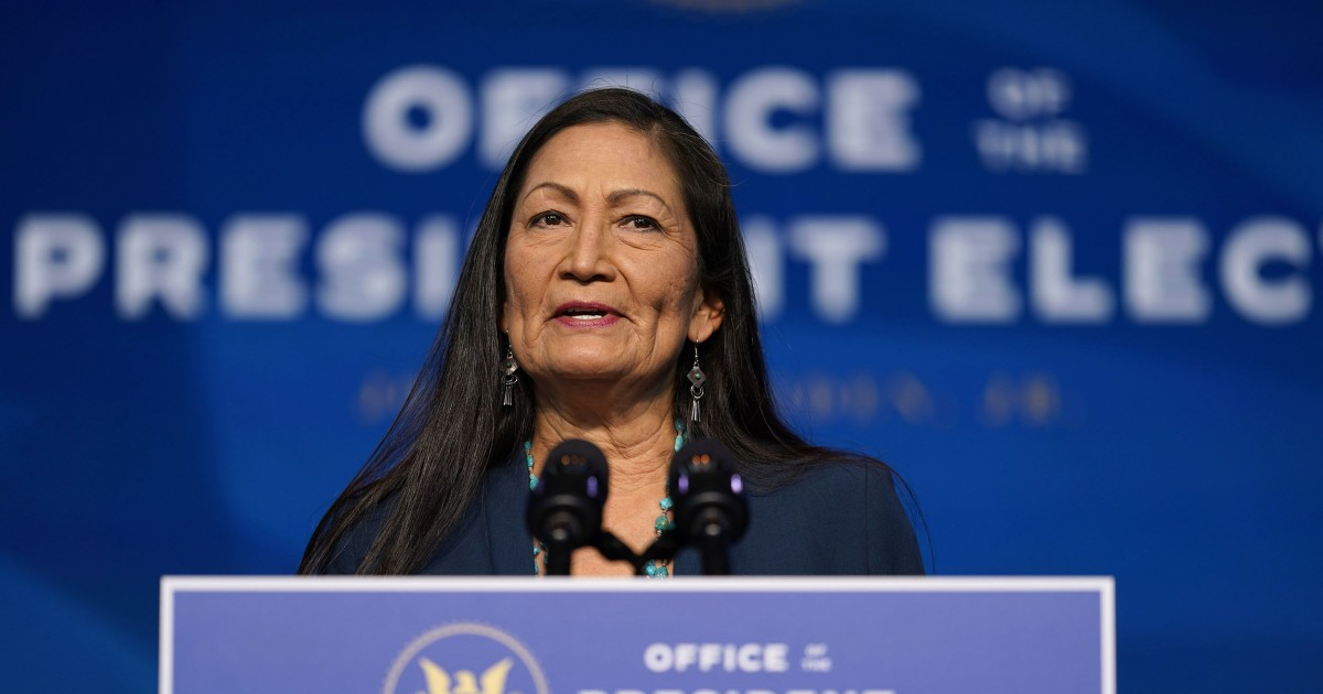 Tribes slam GOP lawmaker for trying to derail Haaland nomination