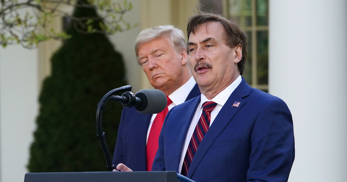 MyPillow CEO Mike Lindell says products were dropped from major retailers after voter fraud claims