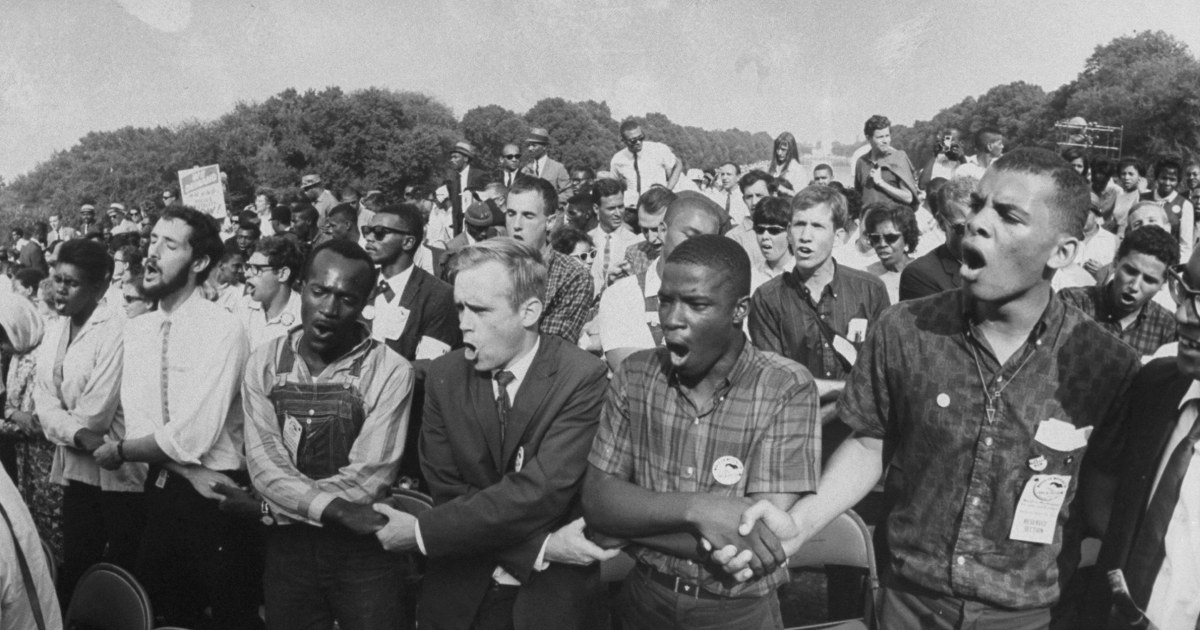 Trump's response to reframing Black Americans' place in history is a racist mess