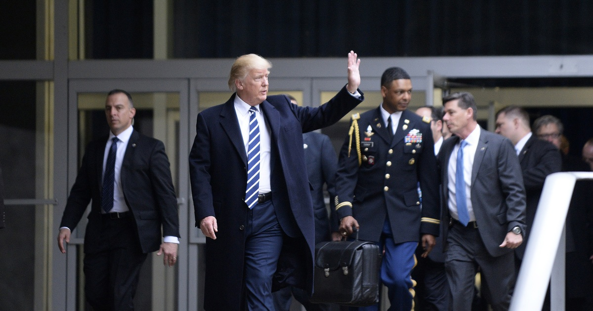 Trump won't hand Biden the nuclear football. Here's how the handoff will happen. – NBC News