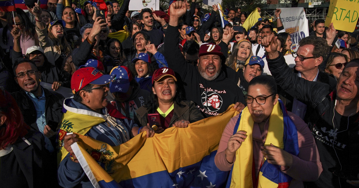 Elation and speculation after Trump's last-minute protected status for Venezuelans