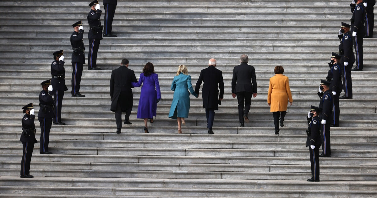 Biden takes office: Inauguration day in pictures