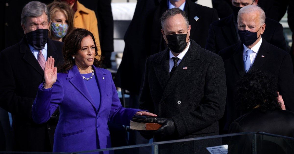 Kamala Harris became the first Black, South Asian VP with 'firsts' surrounding her
