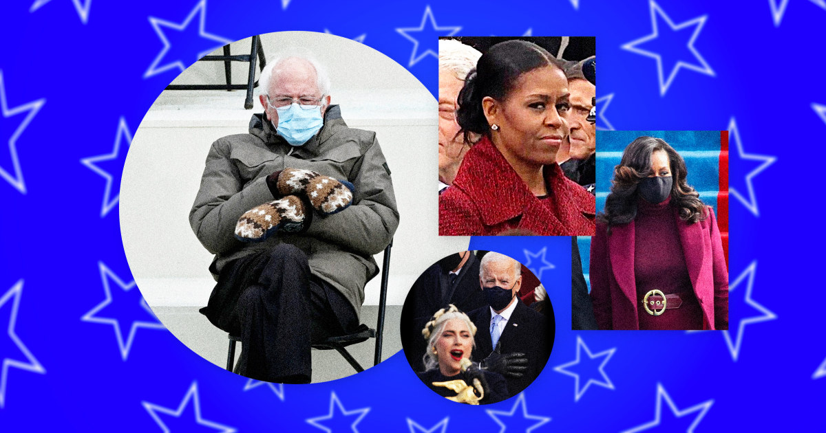 Bernie Sanders, Lady Gaga and 'How it's going': Here are the best inauguration memes
