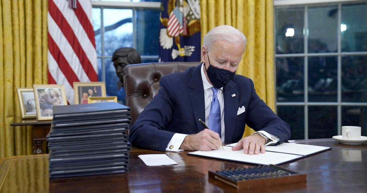 Biden takes immediate steps to undo key Trump initiatives, unveils immigration plan