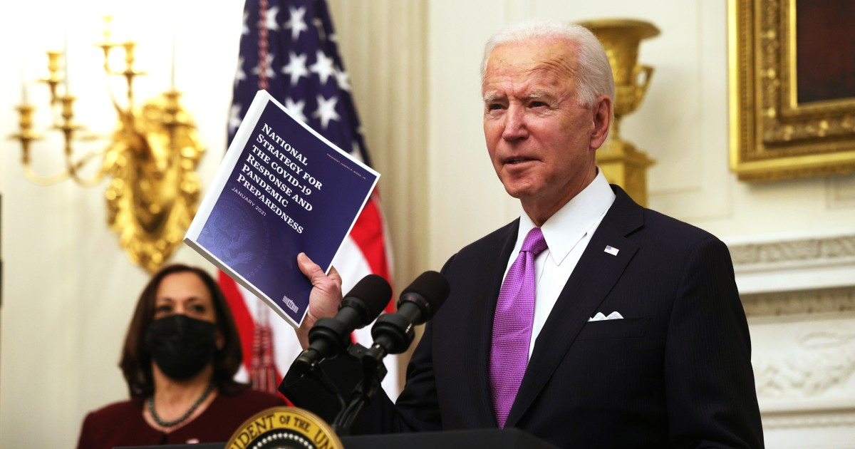 Experts praise Biden's Covid-19 plan, but warn that undoing Trump-era mistakes will take time