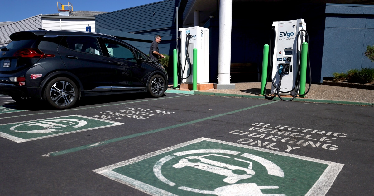 Biden's push for electric vehicles could take funding away from infrastructure projects