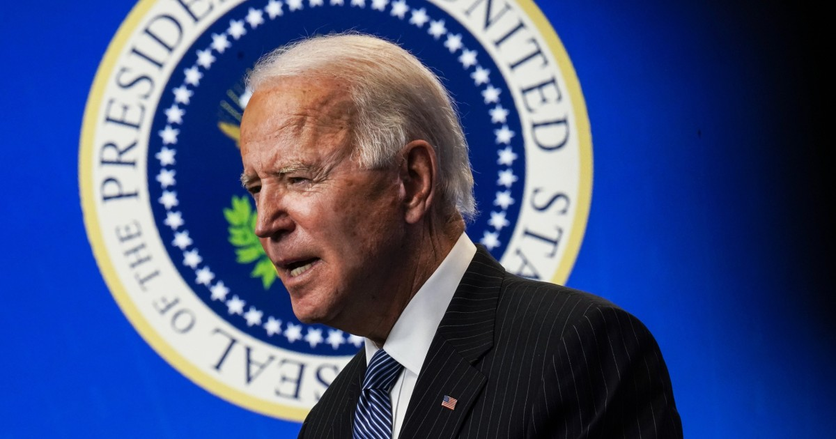 Biden ups vaccine goal to 1.5 million shots a day, says vaccine to be widely available by spring