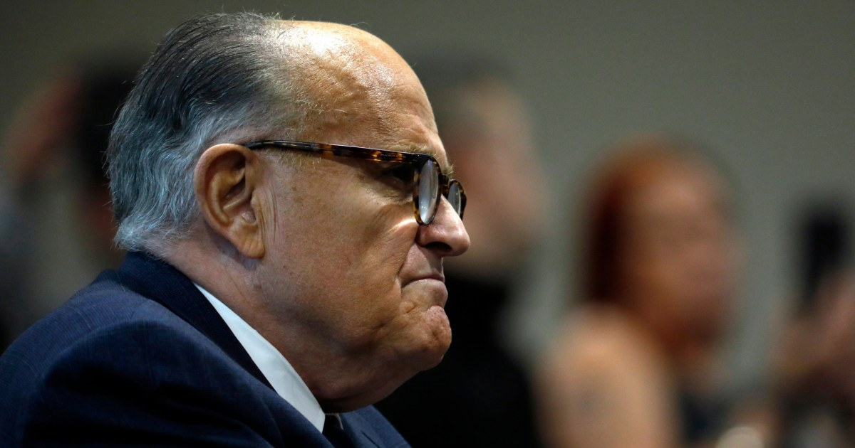 YouTube suspends Giuliani from partner program, cutting access to ad revenue