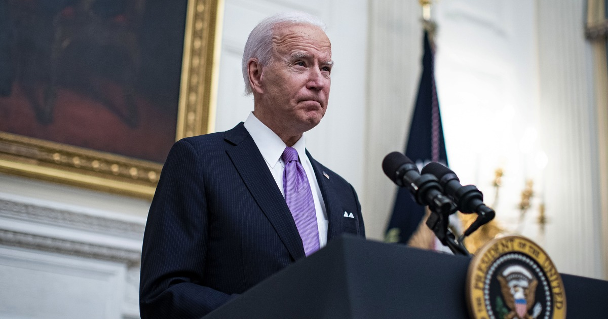 Biden won the fight over the filibuster without saying a word