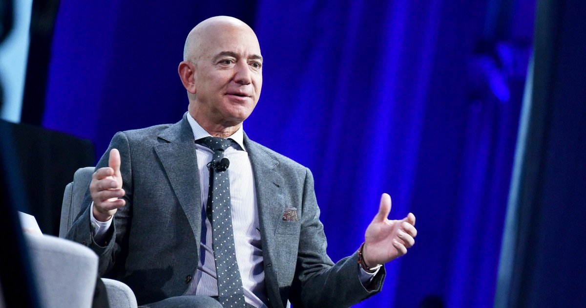 Jeff Bezos steps down as Amazon CEO