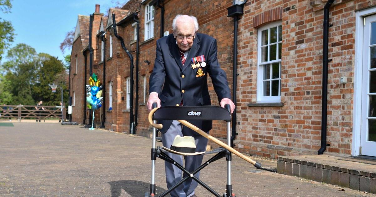 'Captain Tom,' U.K.'s hero Covid fundraiser, dies after testing positive