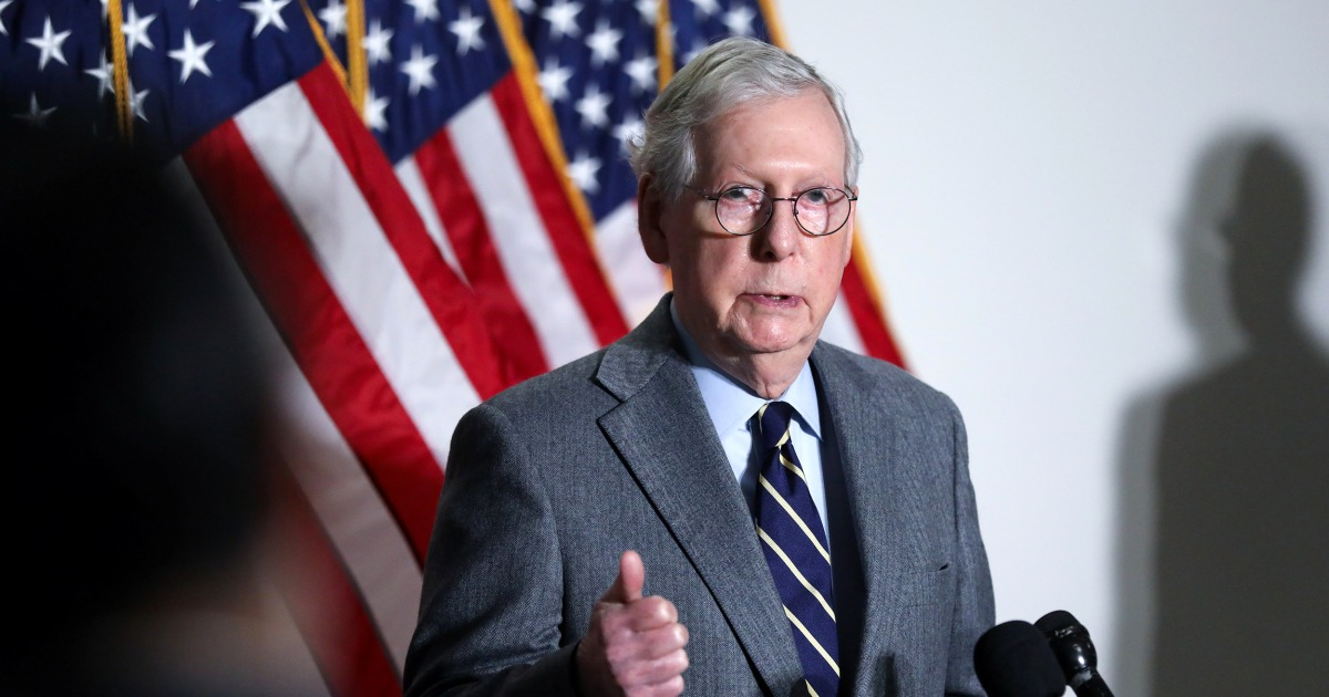 McConnell condemns 'loony lies' in swipe at Marjorie Taylor Greene, defends Cheney