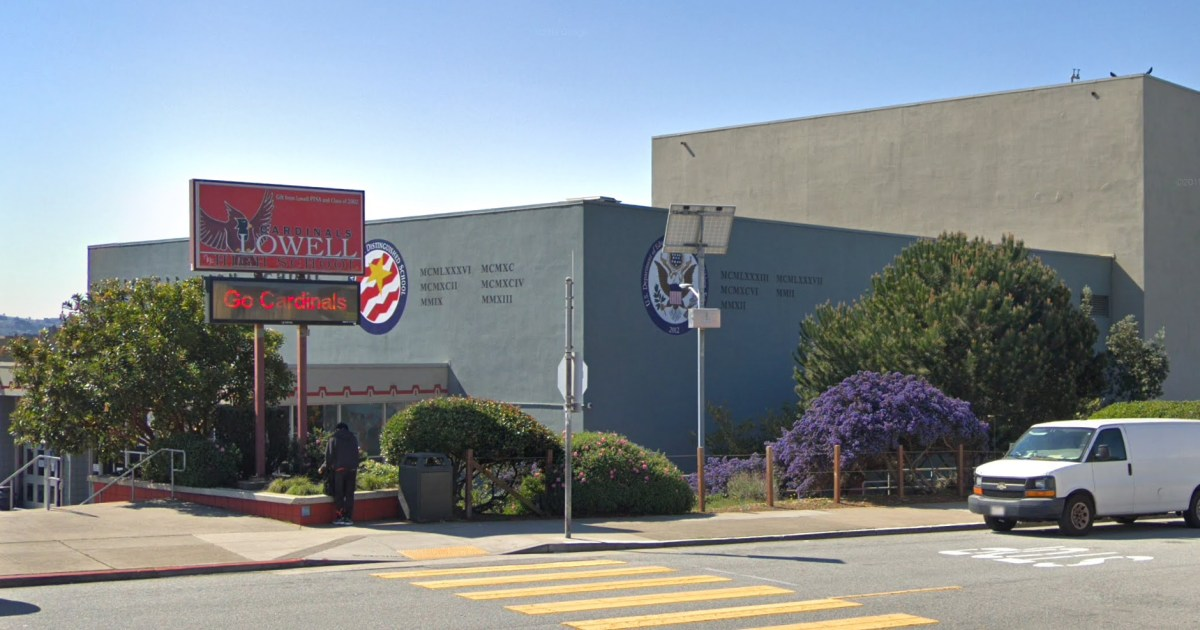 Prominent San Francisco high school could drop academic achievement for admission