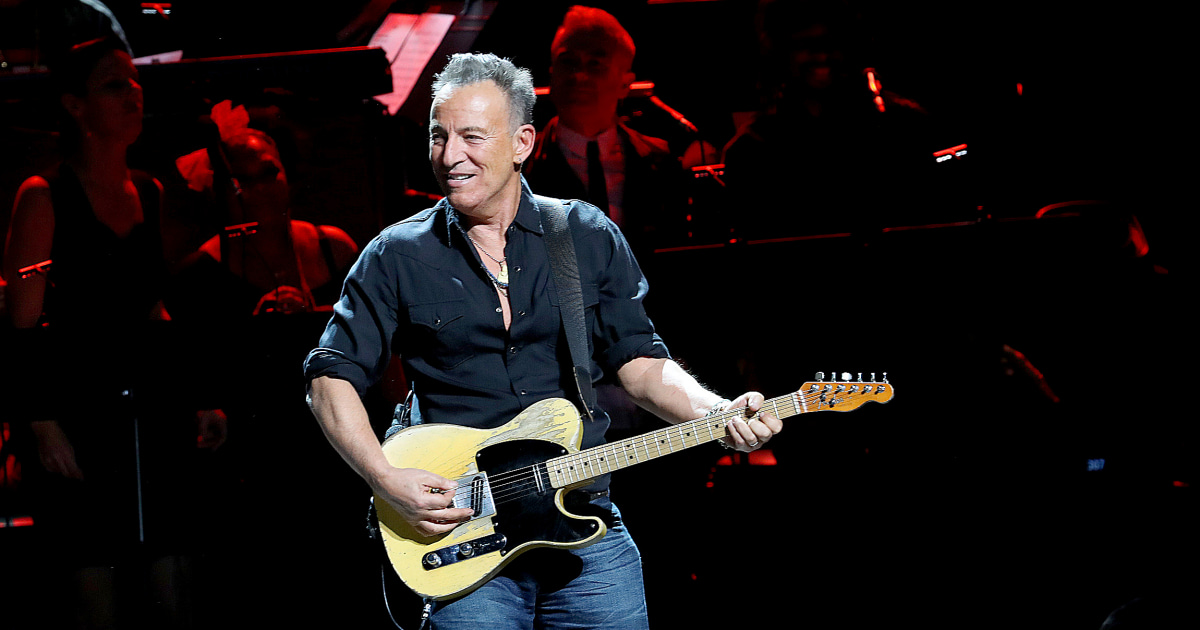Bruce Springsteen admitted to drinking two shots before DWI arrest, court document says - NBC News