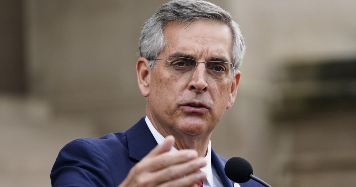 Georgia secretary of state's office opens inquiry into Trump phone call - NBC News