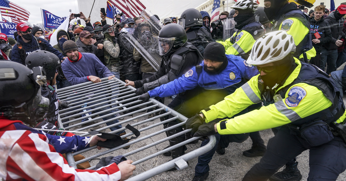 Man charged in Capitol riot worked for FBI, lawyer states thumbnail