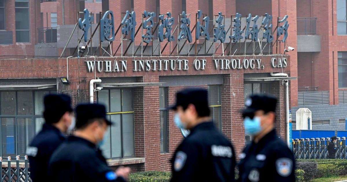 U.S. still hasn't ruled out lab accident origin for Covid because China hasn't been transparent