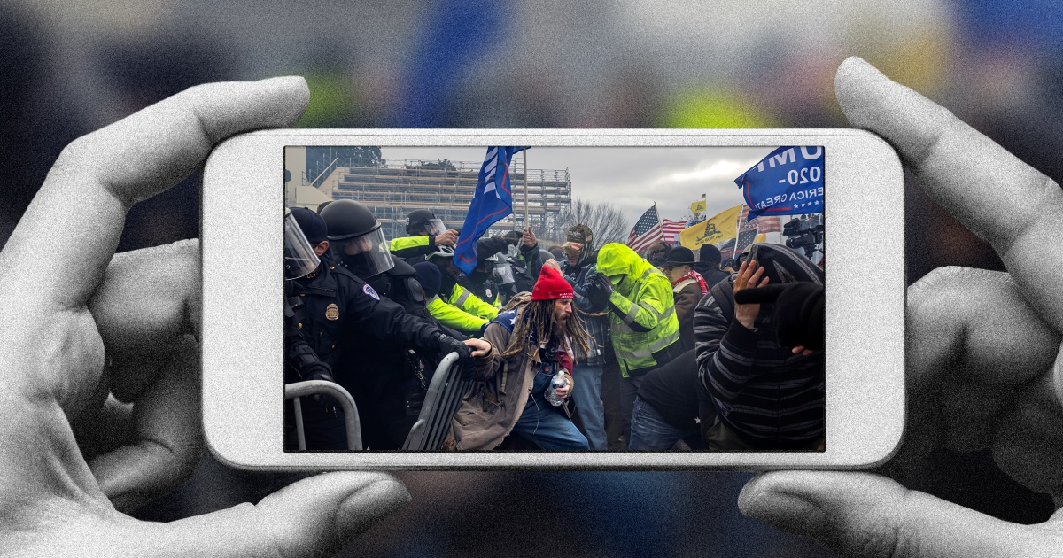 The Capitol rioters livestreamed their crimes. Their folly could change criminal law forever.