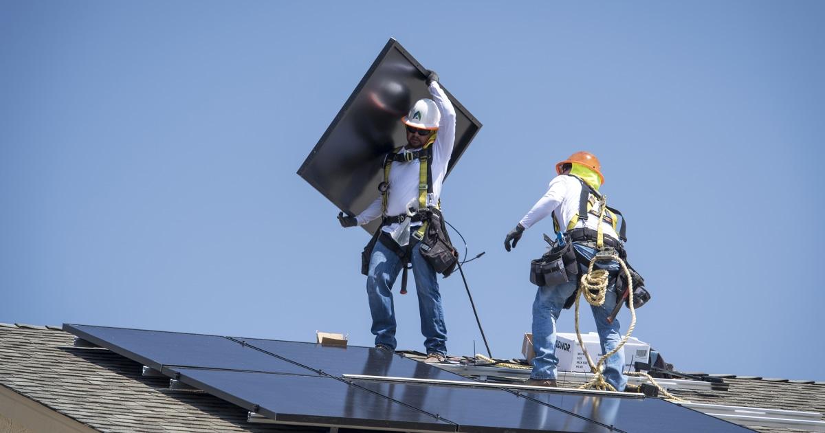 Green vs. Blue: Biden's climate plans face labor concerns - NBC News