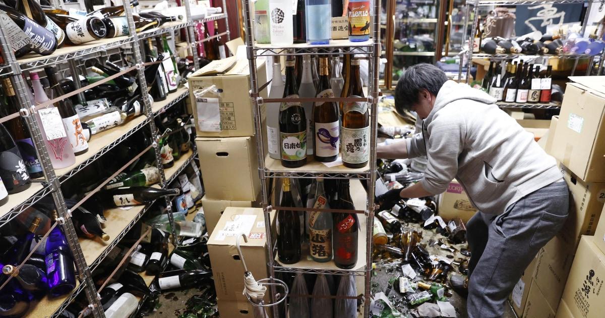 Magnitude 7.3 earthquake strikes near site of Fukushima nuclear disaster in Japan – NBC News