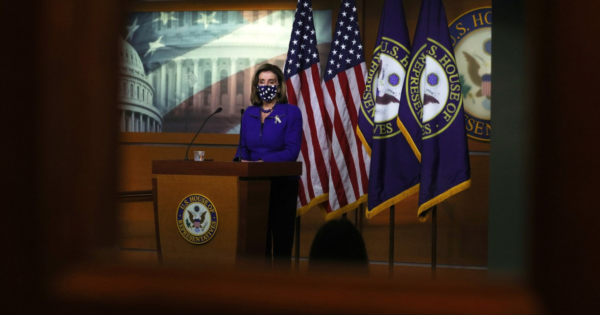 Pelosi calls for '9/11-type' commission on Capitol attack – NBC News