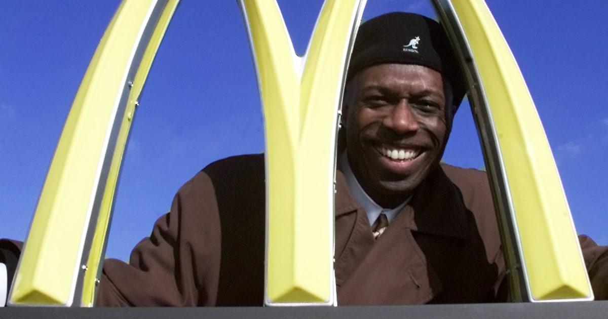 Black franchise owner sues McDonald's, cites persistent bias - NBC News