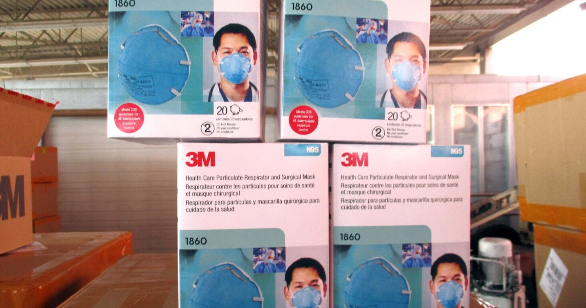 Federal agents seize roughly 10 million phony N95 masks in Covid-19 probe thumbnail