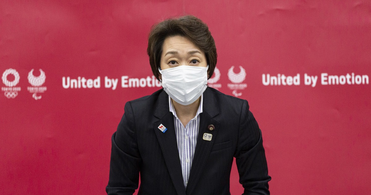 Tokyo Olympics: Japan names female ex-athlete as new chief after sexism storm - NBC News