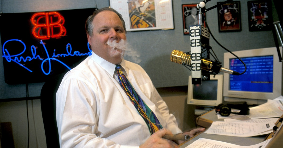 Rush Limbaugh died from lung cancer after denying smoking's risk. Why'd he believe his lie?