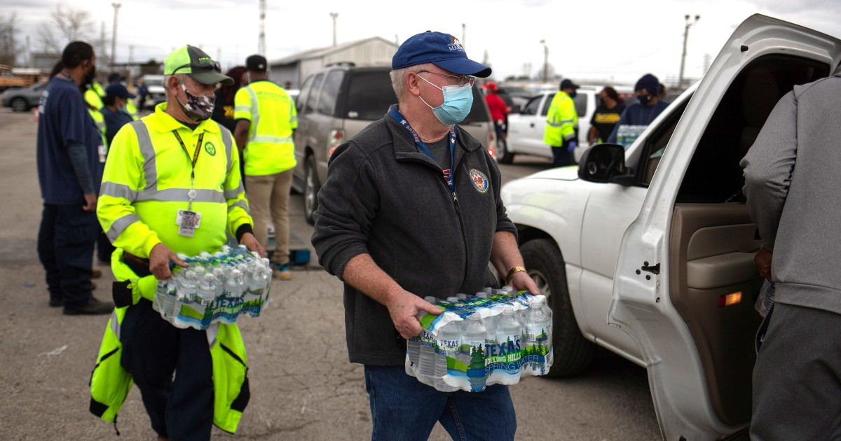 Millions of Texans wake up without safe drinking water after winter storm