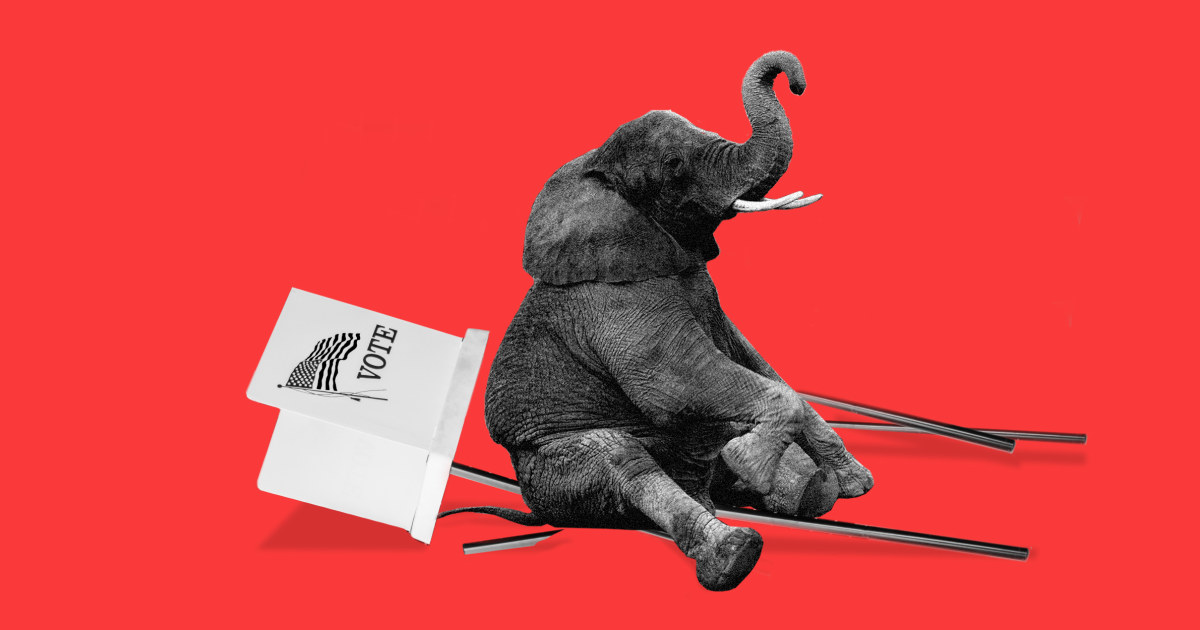 Opinion | For a party that hates 'cancel culture,' the GOP sure loves to cancel your vote