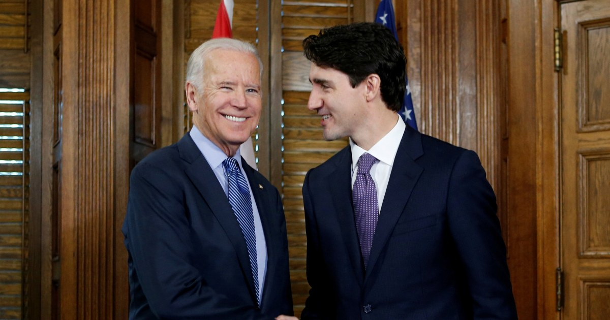 Biden to hold first bilateral meeting with Canadian Prime Minister Trudeau virtually thumbnail