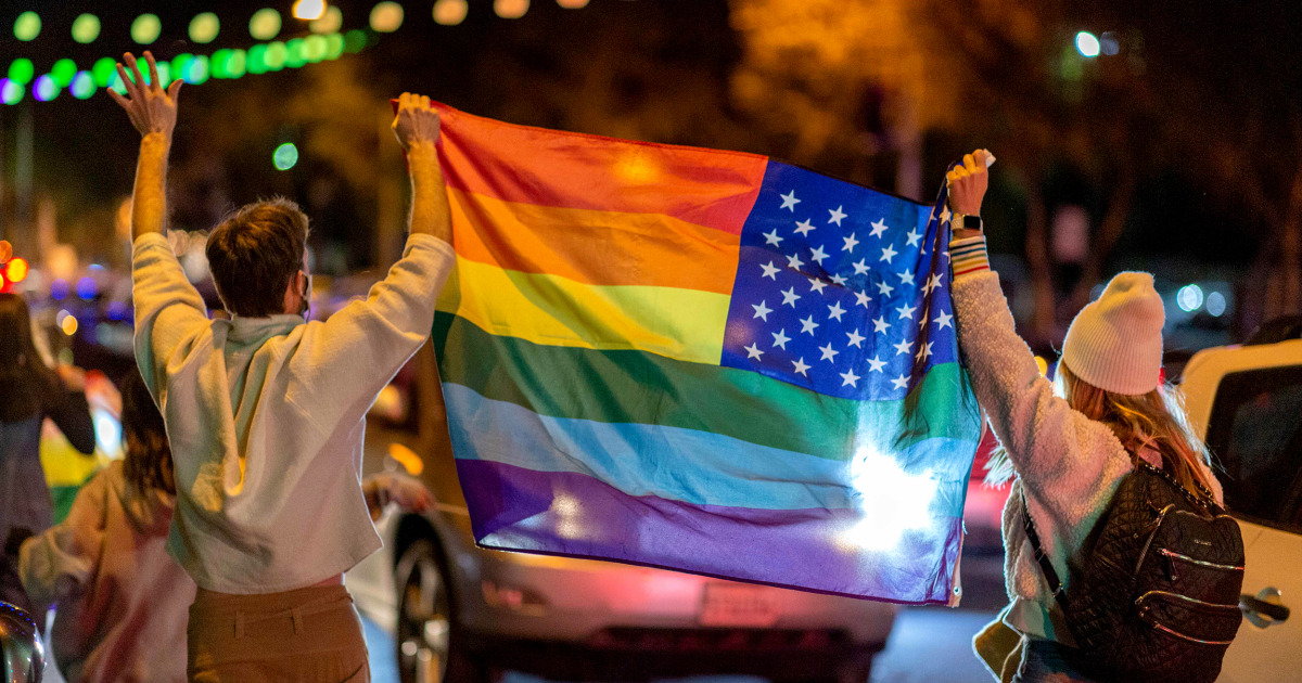 Americans are identifying as LGBTQ more than ever, poll finds - NBC News