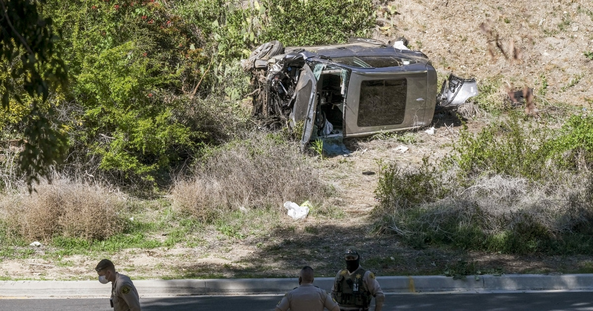 Tiger Woods seriously injured in rollover car crash near Los Angeles