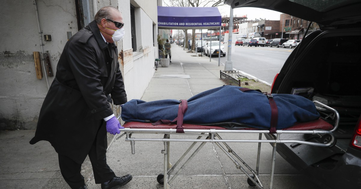 Gov. Cuomo says N.Y. couldn't report nursing home deaths in hospitals. But other states did.