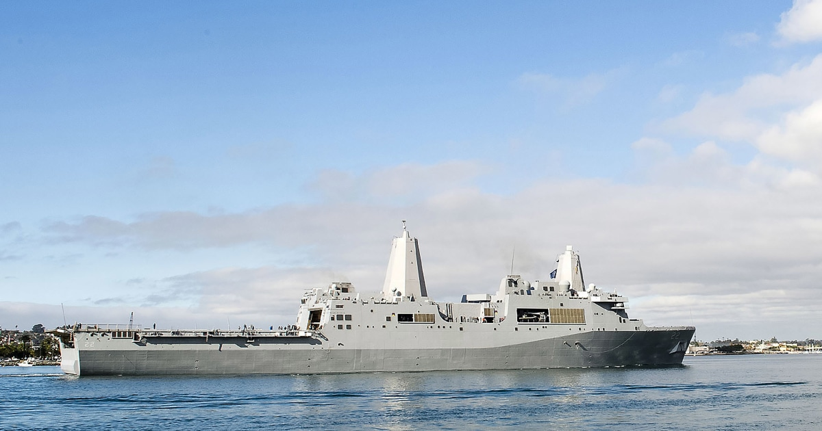 Covid hits U.S. Navy warship in Mideast; possible cases on 2nd ship
