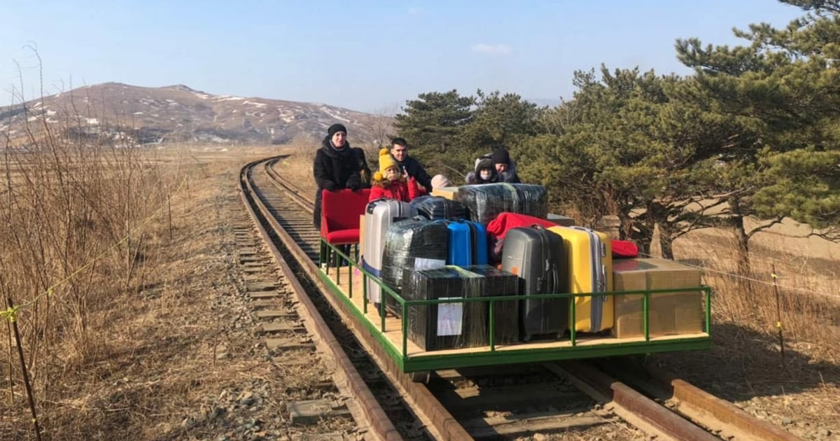 Covid forces Russian diplomats to leave North Korea by hand-pushed railcar