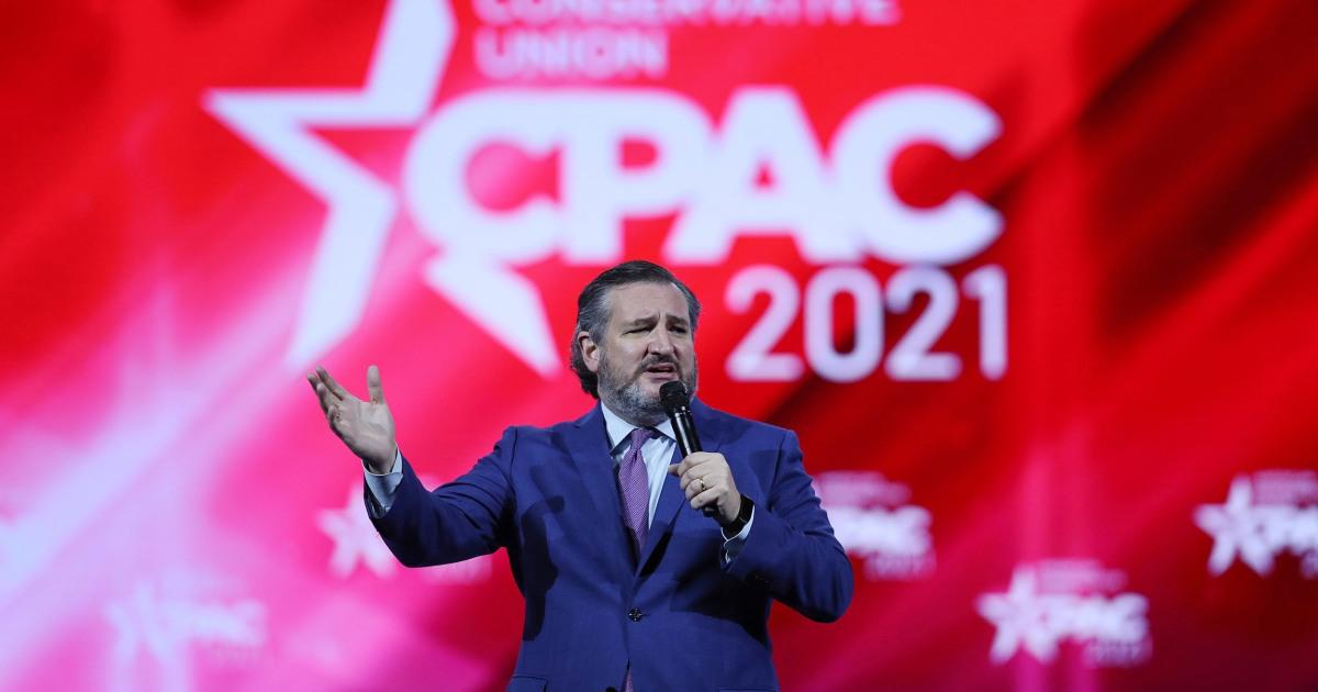 Cruz mocks mask rules, AOC's Capitol riot response in CPAC speech thumbnail